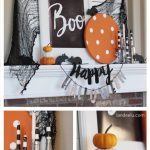 BOO Halloween Mantel… with Mice!