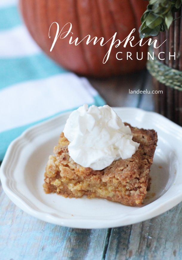 Pumpkin Crunch Dessert Recipe | Landeelu