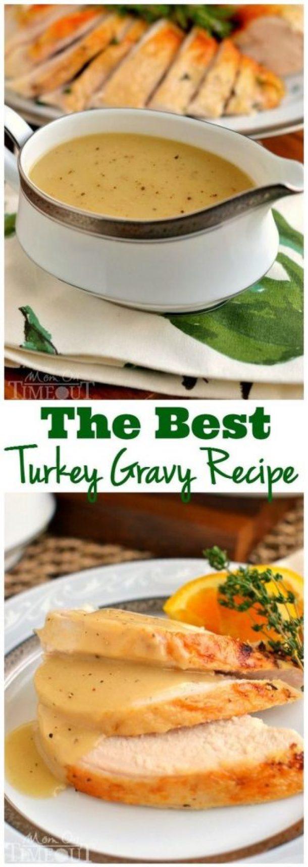 The Best Turkey Gravy Recipe | Mom On Timeout