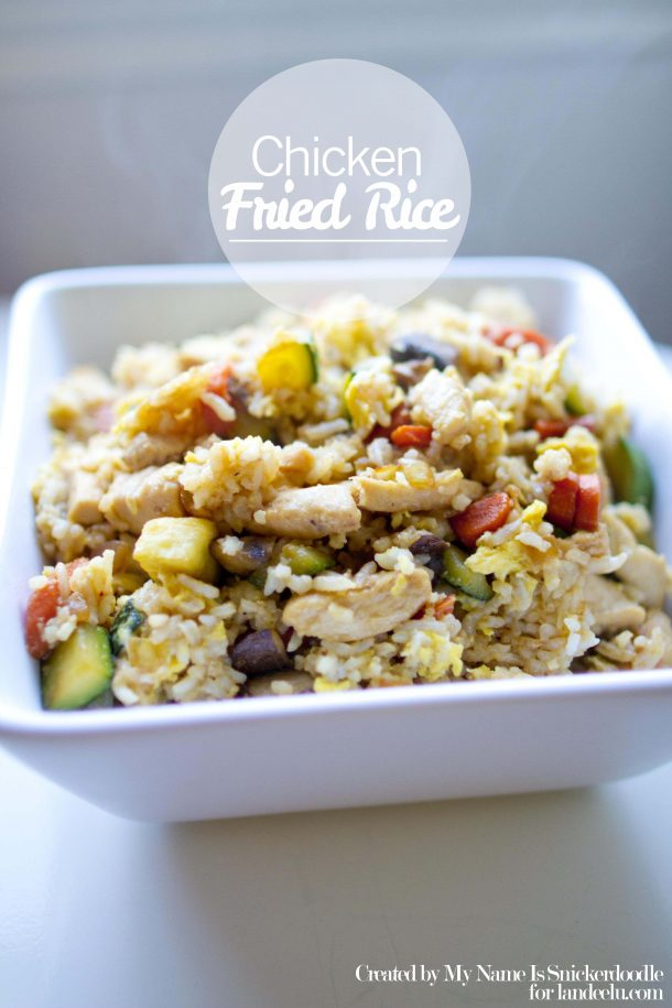 Yummy and Easy Chicken Fried Rice Recipe | Landeelu