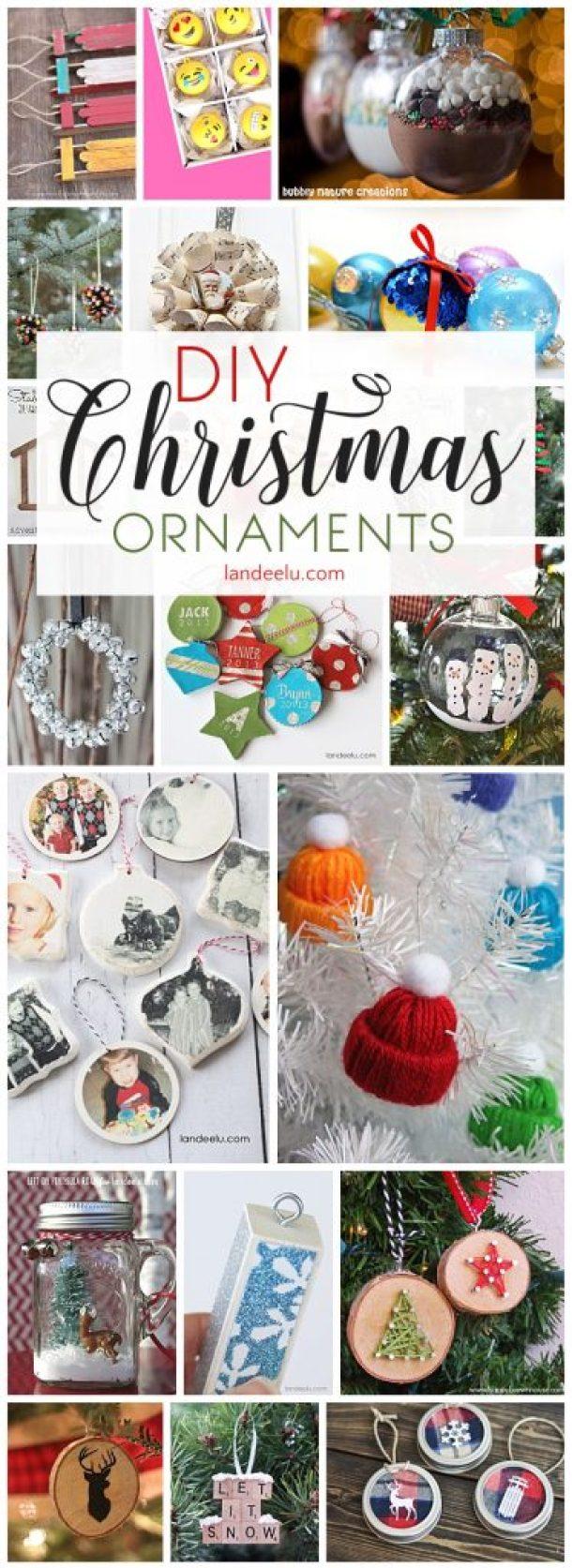 Diy christmas tree ornaments to make landeelu have a beautiful handmade christmas with these diy christmas ornaments solutioingenieria Images