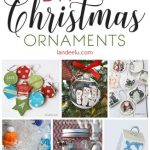 Have a beautiful handmade Christmas with these DIY Christmas ornaments!