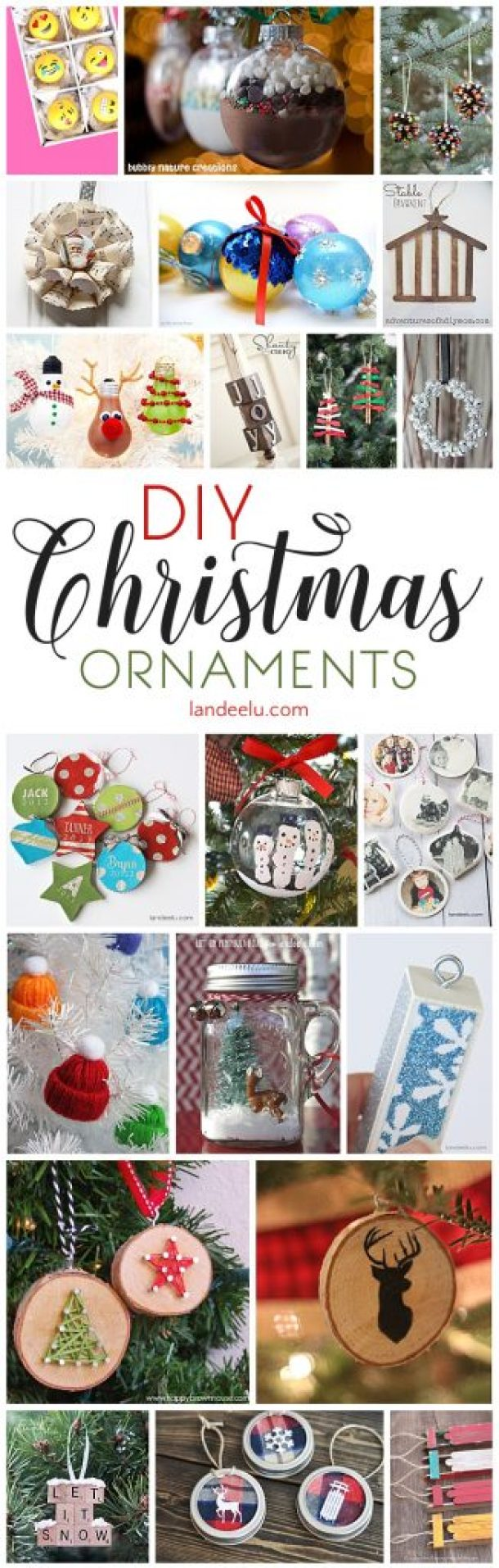 DIY Christmas Ornaments to Make!