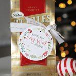 Sweet Holiday Printable Christmas Gift Tags