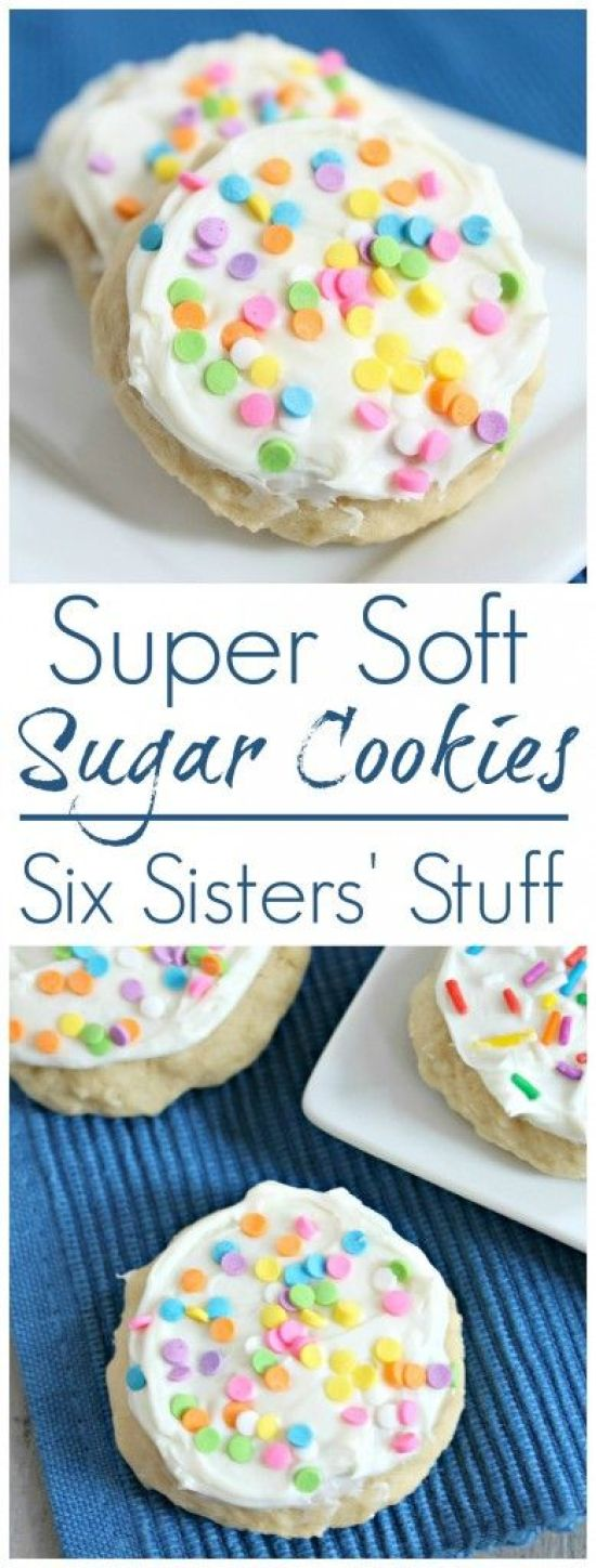 Super Soft Sugar Cookies Recipe | Six Sisters' Stuff