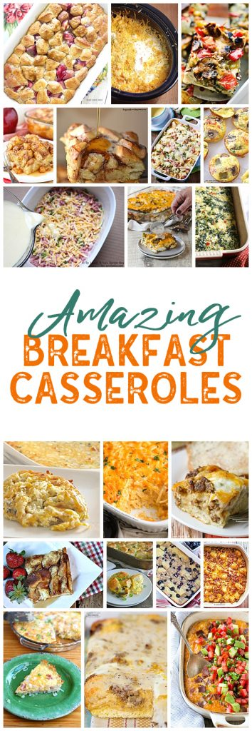 I LOVE breakfast casseroles! Makes hosting overnight guests so easy!