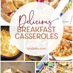 I LOVE breakfast casseroles! Makes hosting overnight guests so easy! #breakfastcasseroles #breakfastrecipes #easybreakfast #breakfastideas