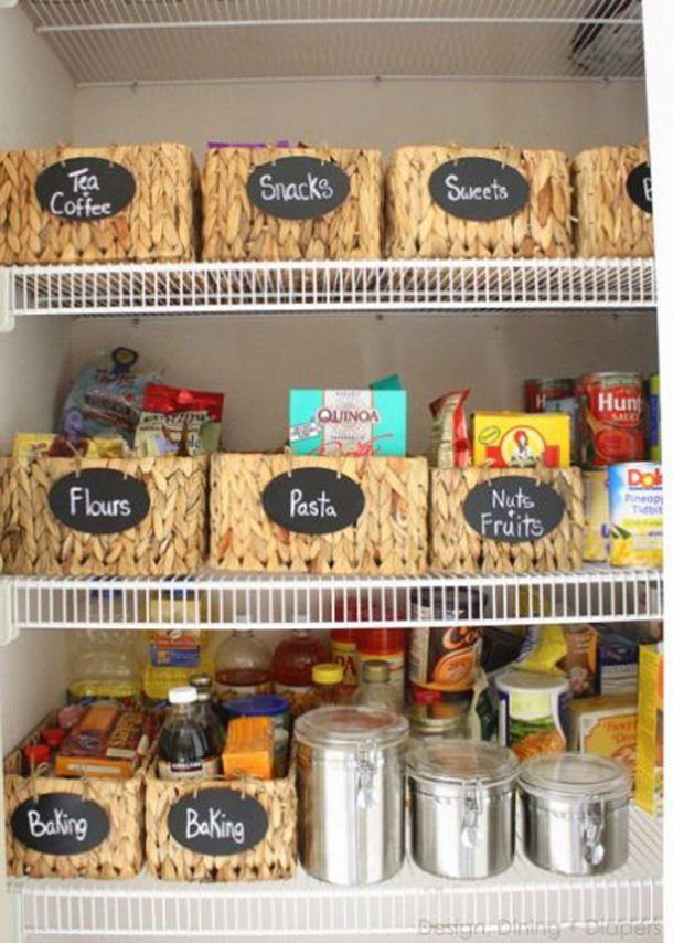It's a fantastic idea to label all the things and find cute storage containers that work for your space and make you smile! hometalk