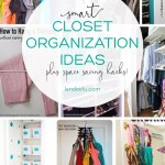 So many awesome closet organization ideas to make your closet the most functional space in the house! #closetorganization #organization #closetideas #closethacks