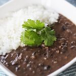 Classic Black Bean Soup and Rice