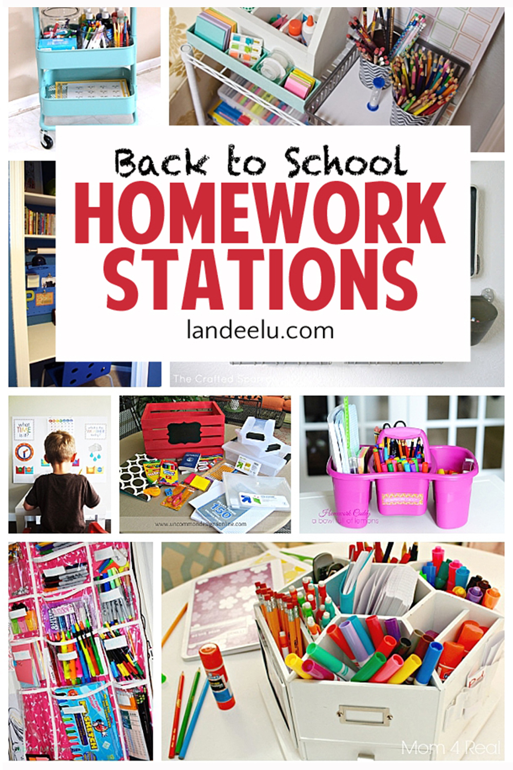 I love these ideas to get the kids motivated to do homework when they head back to school! #homeworkstations #diyhomeworkstations #backtoschool #homework