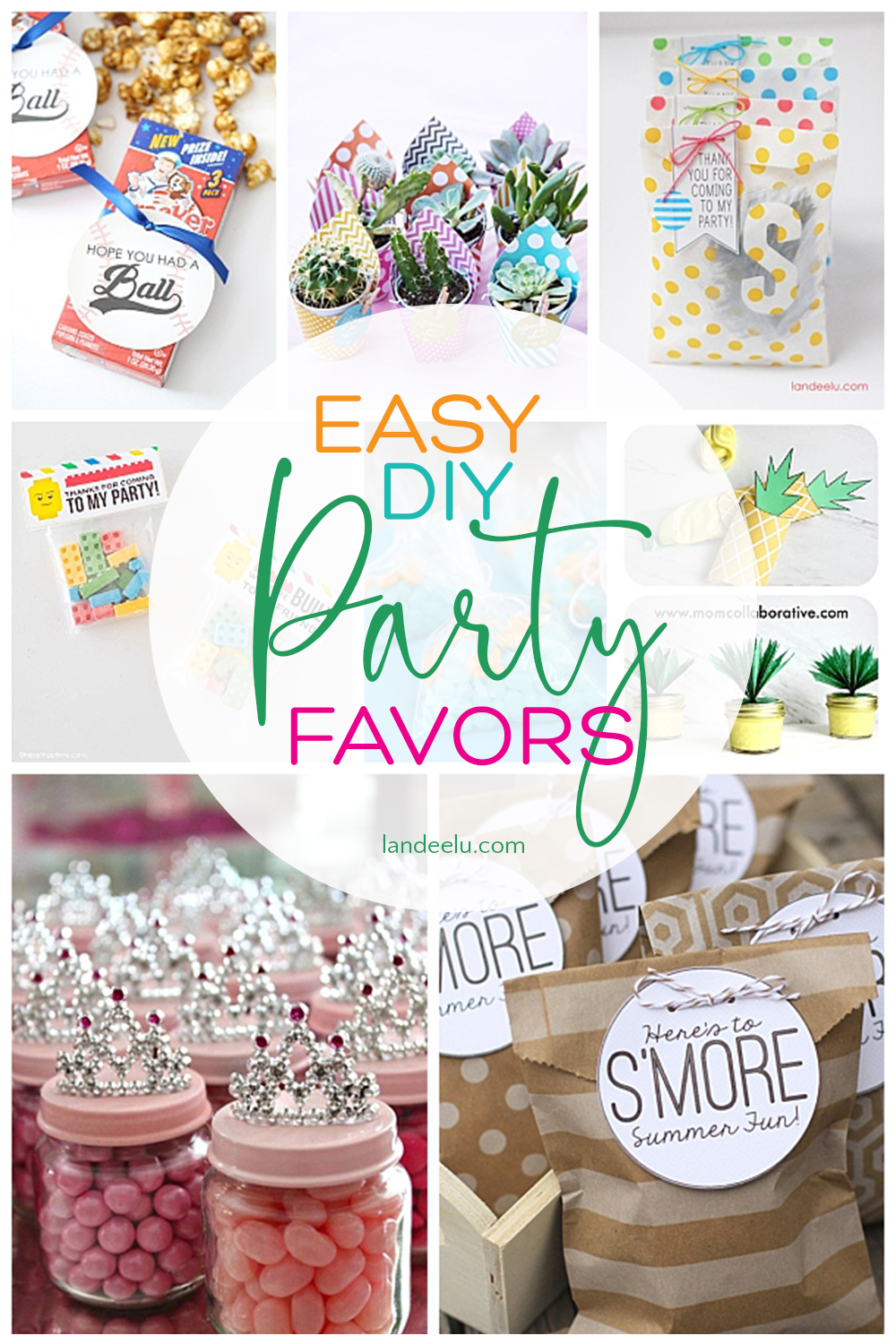 8 x Art Inspired Painting Crayon Birthday Party Favor Favour Loot Bags