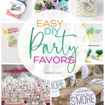 Make these fun and festive DIY party favors for your next get together! So cute and easy! #partyfavors #diypartyfavors #partyideas #easyparty