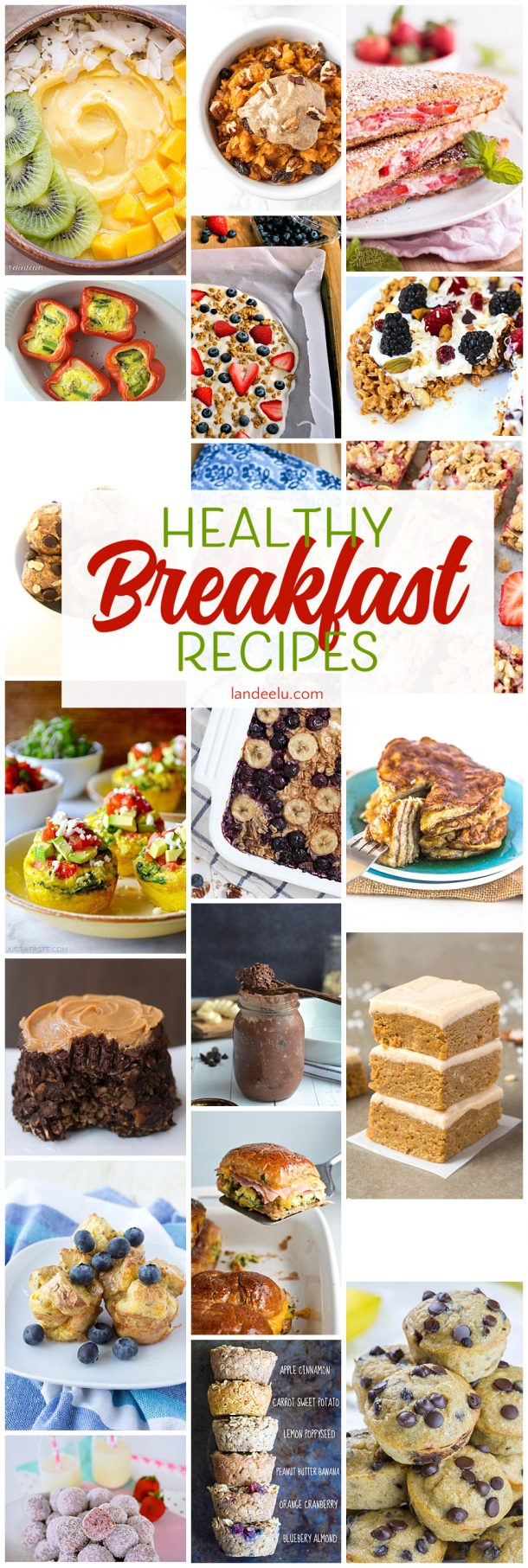Are you looking to start your day off right with some yummy AND healthy breakfast options? Here are 20 recipes to try! Pack as many nutrients into your morning meal as possible!