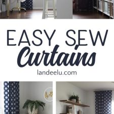 Easy Sew Curtains: If I Can Sew These, You Can Too!
