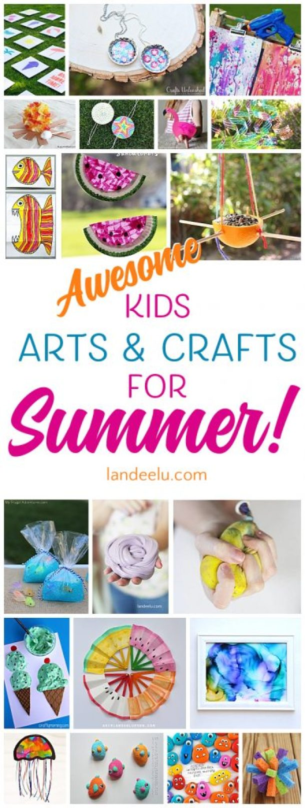 summer craft ideas for children summer craft ideas for 20 ideas to keep em busy 7204