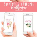 Free Download: Summer iPhone Wallpaper