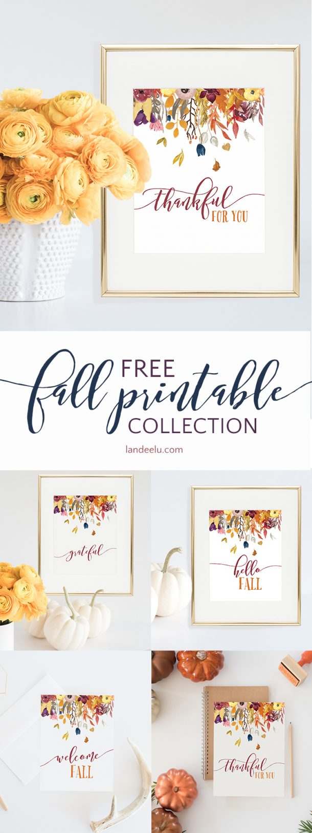 picture about Free Fall Printable identified as 20 No cost Tumble Printables For Your Property! -