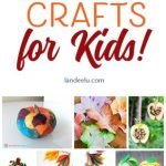 Try these fun fall crafts for kids this Thanksgiving!