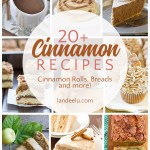Looking to make more than just cinnamon rolls? Try these yummy cinnamon recipes! #cinnamonrecipes #cinnamonrolls #cinnamonrollrecipe #fallrecipes #cinnamonbread