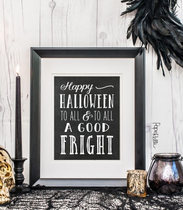 Free Printables: Happy Halloween Printable