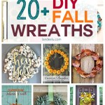 Awesome fall wreaths to make this year! I love DIY projects! #fallwreaths #diyfallcraft #fallcraft #diyfallwreaths