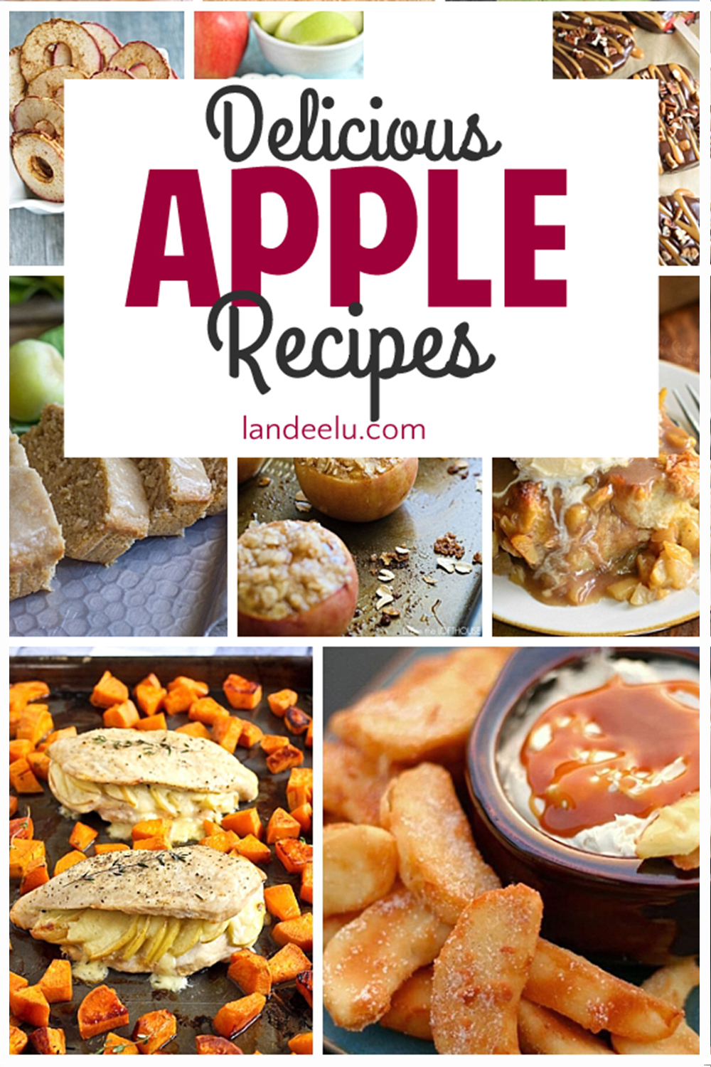 These apple recipes look soooo yummy! I can't wait to try them! #applerecipes #fallrecipes #apples