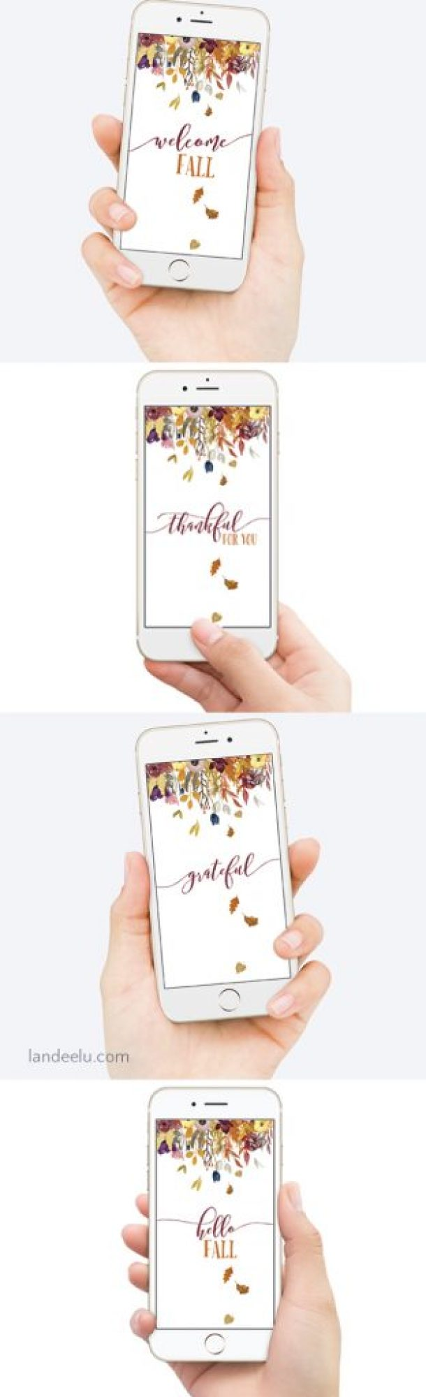 Gorgeous fall iphone wallpaper collection... perfect for this beautiful season!