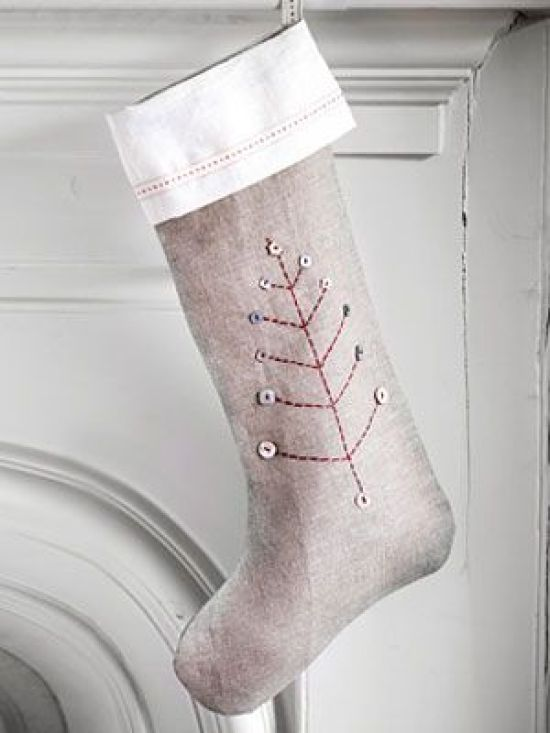 Craft Project:  Christmas Stocking Pattern | Woman's Day