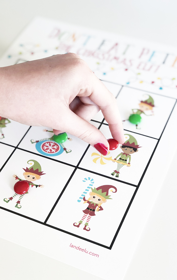 Add this to your collection of fun family Christmas games! Don't Eat Pete the Christmas Elf!