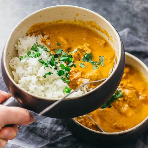 Instant Pot Chicken Tikka Masala | savory tooth