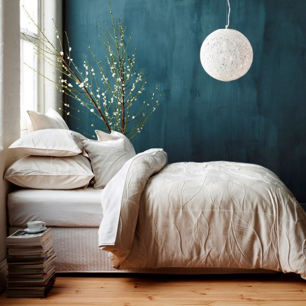 Deep Teal Walls | Domino
