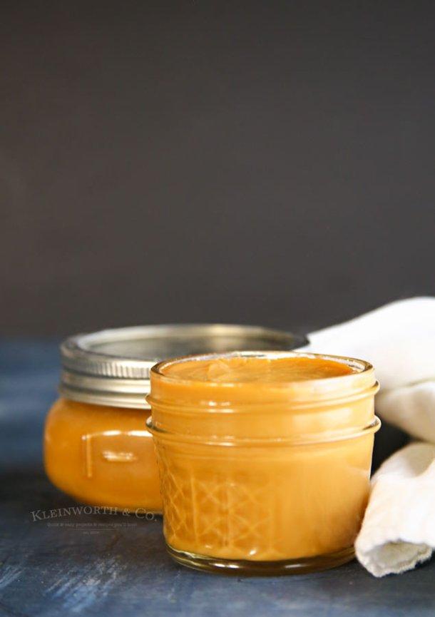 Instant Pot Caramel Dulce De Leche   Kleinworth & Co.