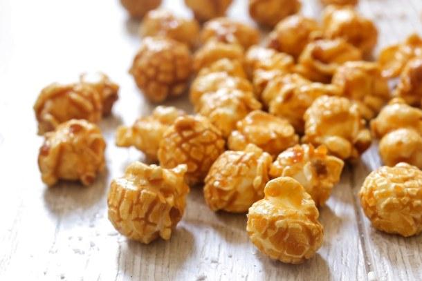 Instant Pot Caramel Popcorn   Recipe This