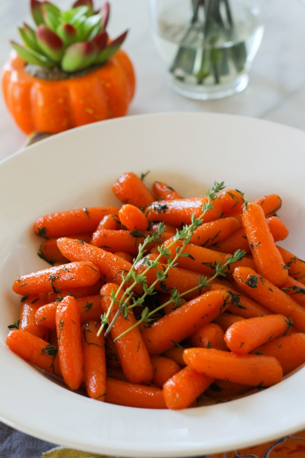 Instant Pot Honey Herb Carrots | Zen and Spice