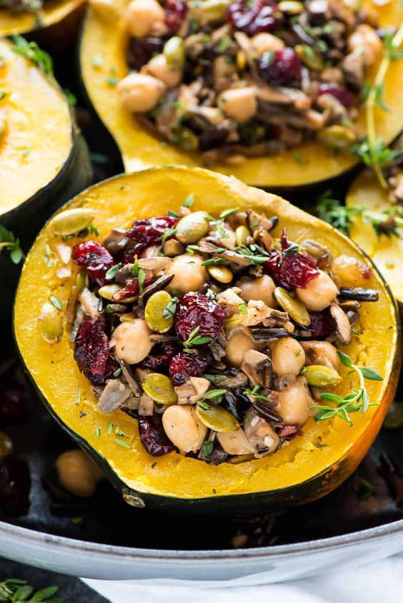Instant Pot Stuffed Acorn Squash | Well Plated