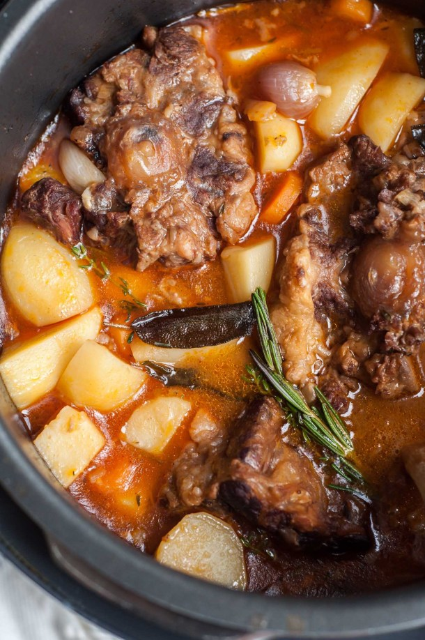 Pressure Cooker Oxtail Stew | Gastro Senses