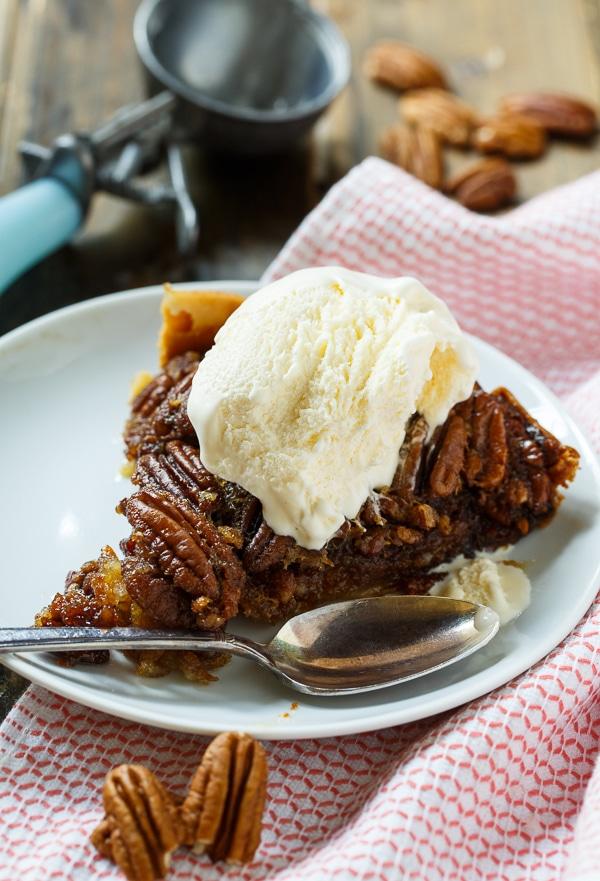 Crockpot Pecan Pie | Spicy Southern Kitchen