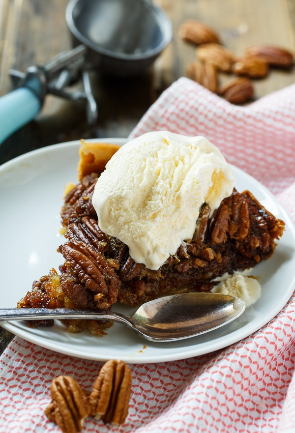 Crockpot Pecan Pie | Spicy Southern Kitchen