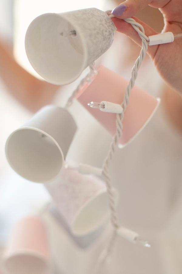 DIY Dixie Cup Garland | Rhiannon Bosse
