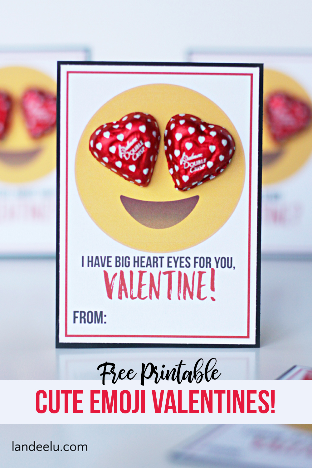image relating to Printable Valentines Pictures titled Emoji Printable Valentines - Lovable Enjoyment Emoji Printable