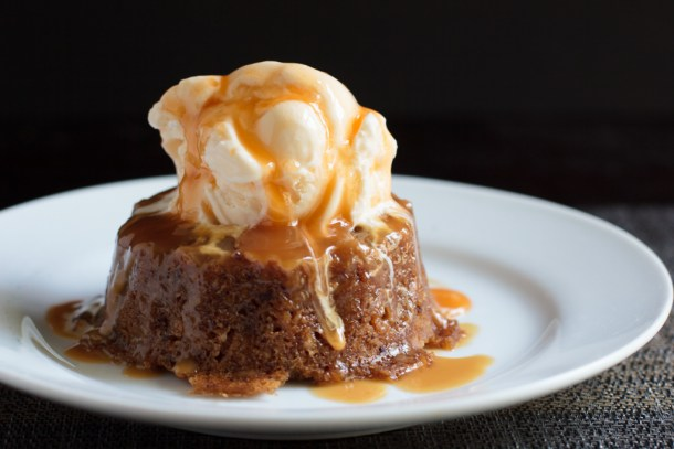 Slow Cooker Sticky Toffee Pudding | Away from the Box