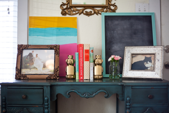 DIY Honey Bear Bookends | Pretty Providence