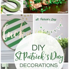 DIY St. Patrick's Day Decorations! So many awesome ideas! | landeelu.com #stpatricksday #stpatricksdaydecor #diystpatricksday #stpattysday