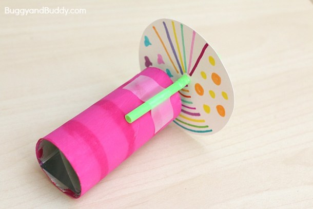 Science for Kids; How to make a Kaleidoscope | Buggy and Buddy