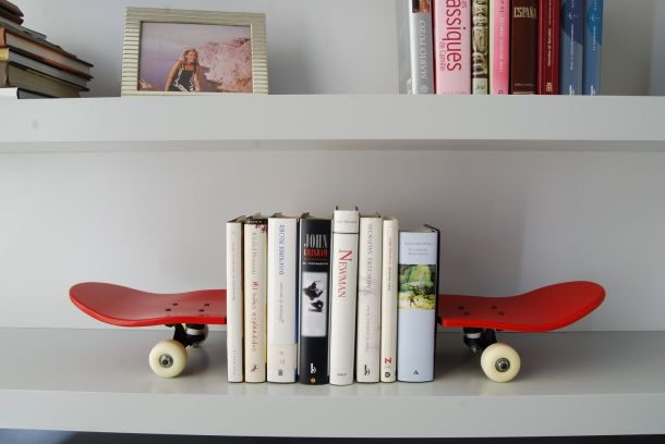 Skateboard Bookends | Cooler Lifestyle