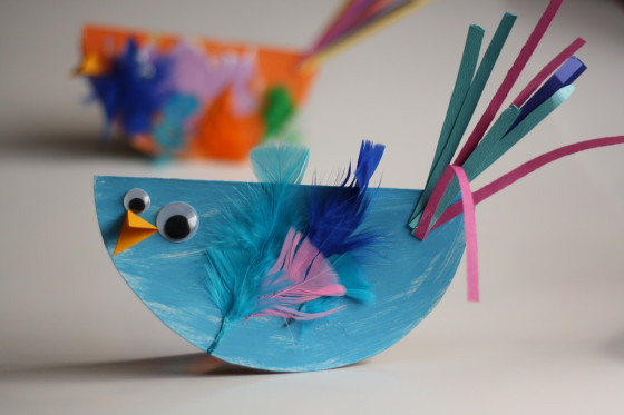Bird Craft for Kids | Happy Hooligans