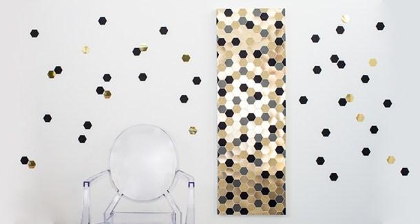 Hexagon Art | Tara Dennis