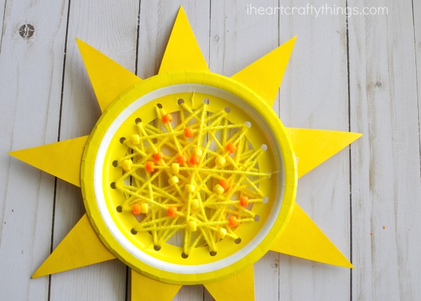 Sun Sewing Activity | I Heart Crafty Things
