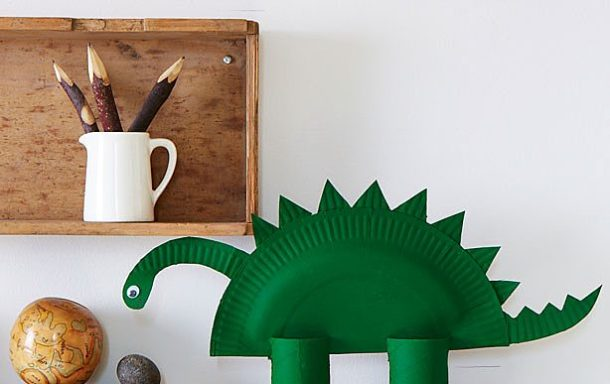 The Perfect Paper Plate Dinosaur | Good to Know